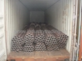 Seamless pipe for piling