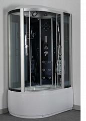 New Model Asymmetric Shower Cabin