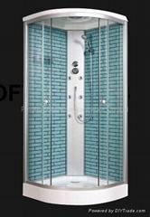 pattern shower cabin
