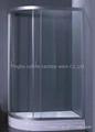 asymmetric shower enclosure