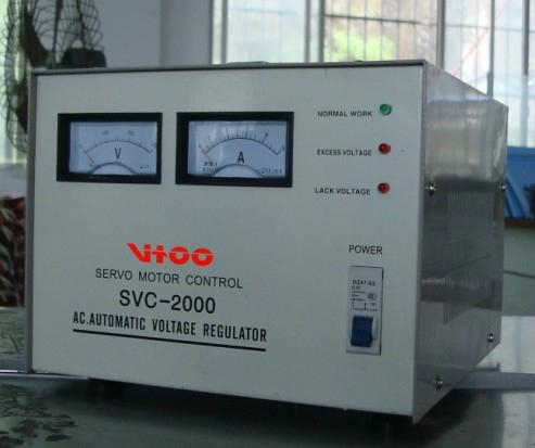 voltage stabilizer SVC-1500W 1phase 2