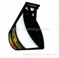 curved shaped menu light box