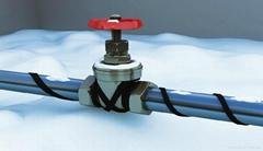 管道保溫防凍電伴熱電加熱帶系統