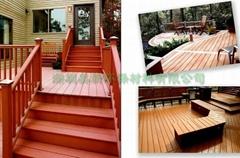 優質戶外環保生態木塑地板