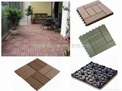 DIY拼裝塑木地板
