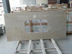 Prefab Granite Kitchen Counter Top