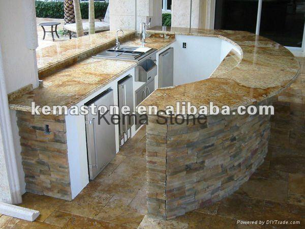 Granite Outdoor Kitchen Counter Top Bbq Gco001 Kema