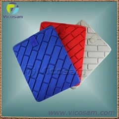 coloerful anti-shock  lycra EVA case for new ipad