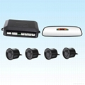 best price and hot rearview mirror parking sensor system 1
