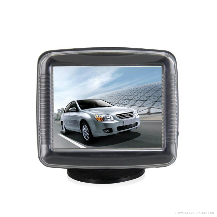 hot and new sell 3.5 inch LCD rearview car monitor screen 1