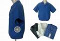 短袖空調保健工作服-A款