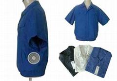 短袖空调保健工作服-A款
