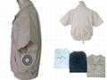 短袖男女裝-空調保健工作服-C款 1