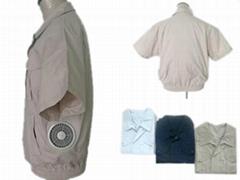 短袖男女装-空调保健工作服-C款