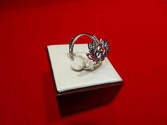 千足银戒指