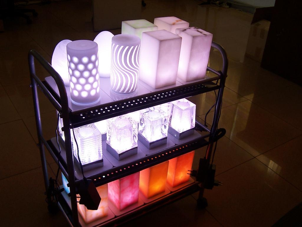 Cordless table lamp set - MC-22 Series - CALtec / OEM (Taiwan ...