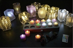 Candle votives & holders