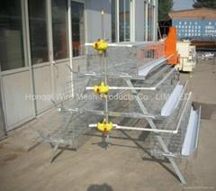 阶梯型自动供水鸡笼