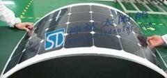 可弯曲太阳能组件