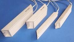 白色梯形铝外壳功率型电阻