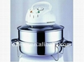 Culti-functional stainless steel halogen/Convection Oven-A301S 1400W