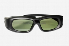 3d active shutter glasses for TV, compatible with Sony/LG/Samsung TV (adult use)