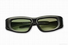 active shutter 3D glasses for TV from Gonbes (GBSG05-BT),Support bluetooth TV