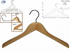 Wooden Hangers (big head) WMC414
