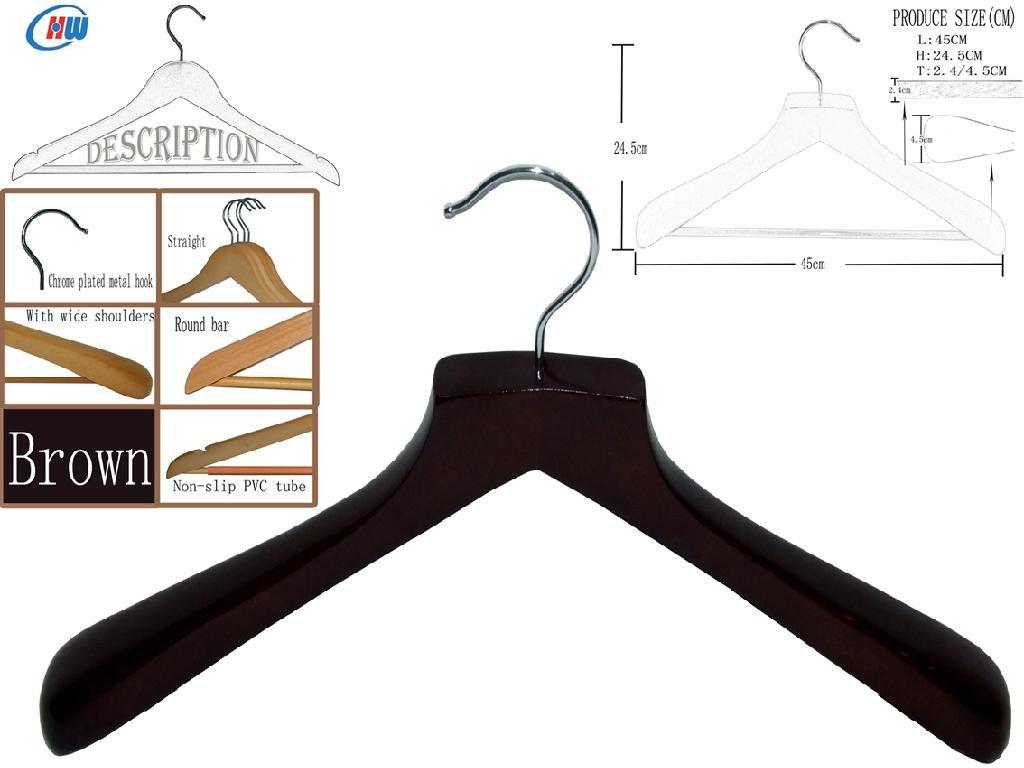 Wooden Hangers (big head)WMP457B 1