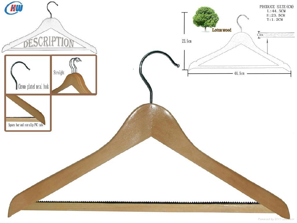 wooden hanger WLP013 1