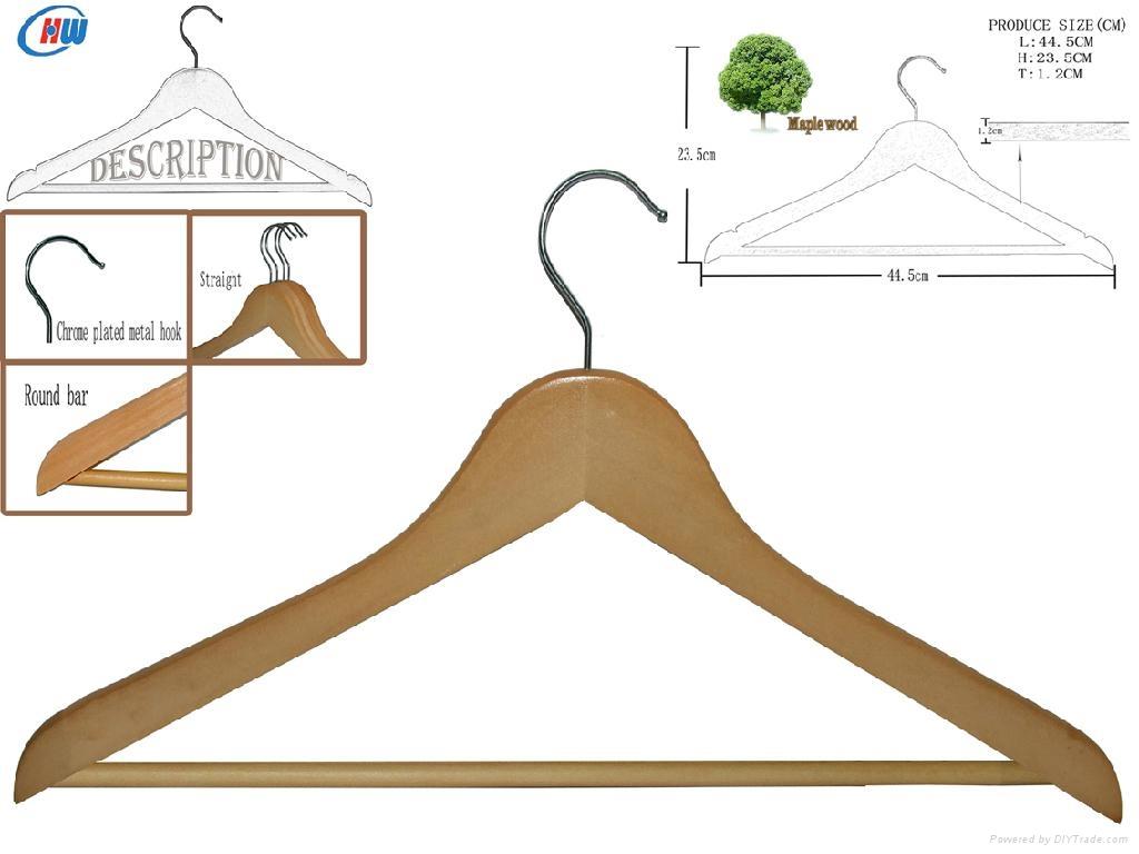 wooden hanger WLP013 3