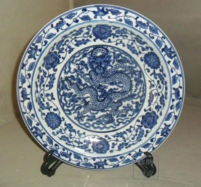 景德鎮手工大瓷盤 2