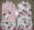 漂白花园点珠手套 3