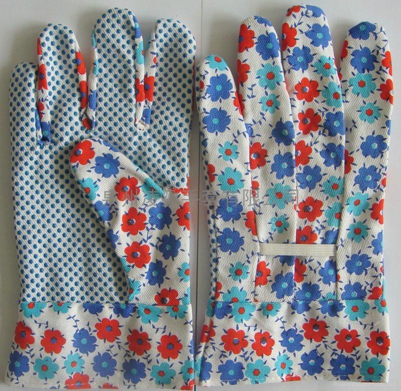 漂白花园点珠手套 5