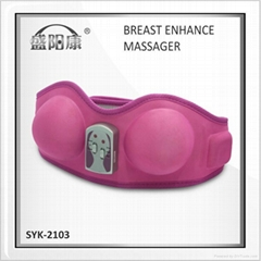 vibrating breast growth massager