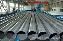 ASTM A53 Welded ERW Black Steel Tube