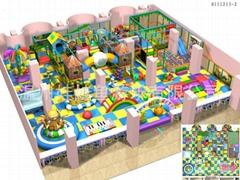 室内儿童游乐园淘气堡