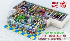 淘氣堡室內兒童樂園