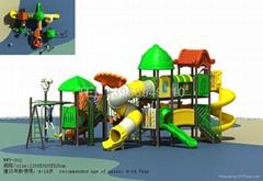 工程塑料小博士组合滑梯