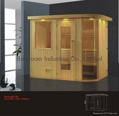 Deluxe Infrared Sauna Room