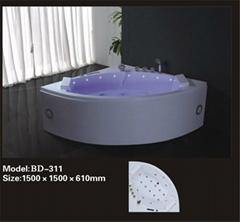 Corner Massage Tub
