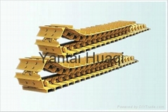 chain track assy for excavator