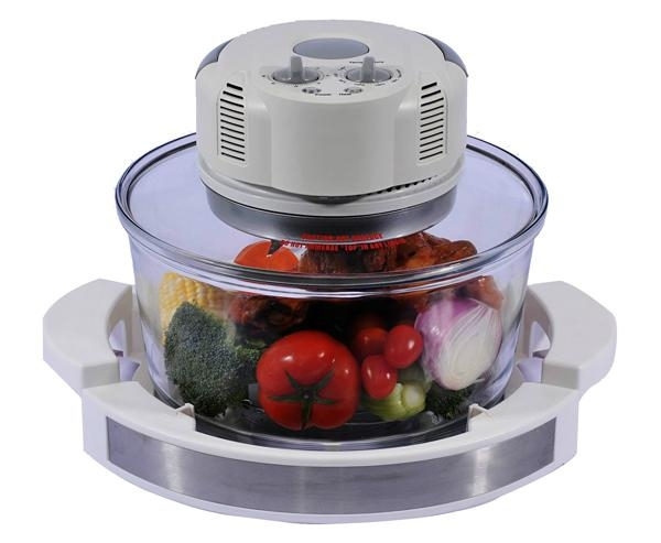 12L Halogen Oven KM-801(Enlarge to 17L by extender ring)   2