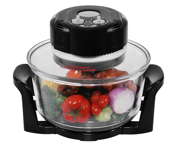 12L Halogen Oven KM-801(Enlarge to 17L by extender ring)   3