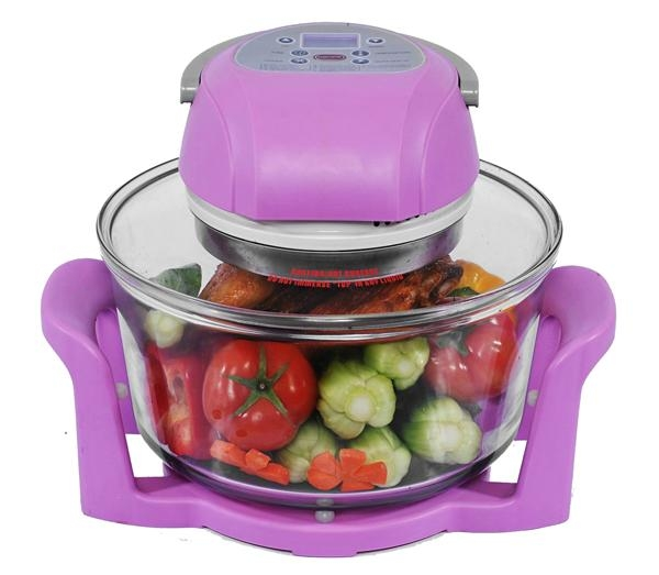 12L Digital Infrared Halogen Oven KM-806B with glass bowl 1