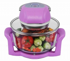 12L Digital Infrared Halogen Oven KM-806B with glass bowl
