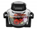 12L Digital Infrared Halogen Oven KM-806B with glass bowl 2