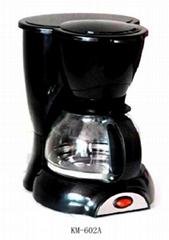 0.7L 4-6 cups Coffee Machine KM-602A