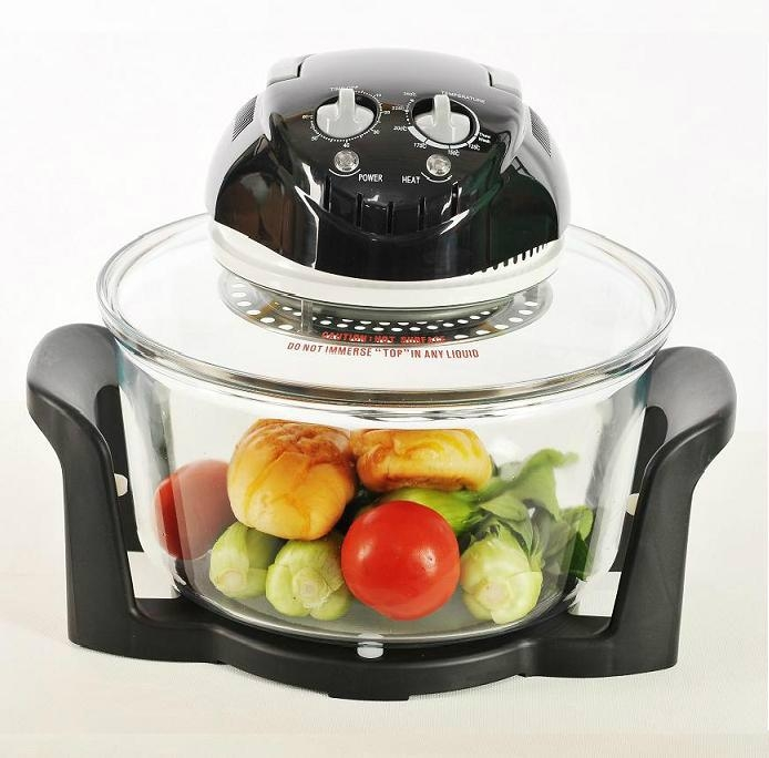 CE Certified 12L Multifunctional Halogen Oven 3