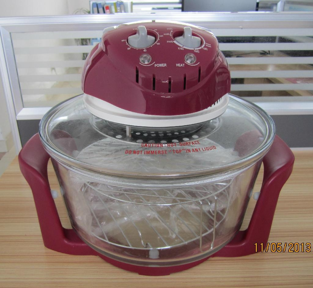 CE/  D/EMC/ROHS/CB certified 12L Multifunctional Halogen Oven KM-809B 3